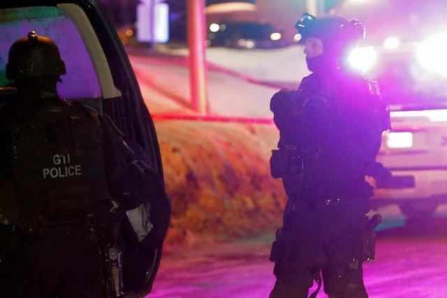 Tote bei Terroranschlag auf Moschee in Quebec