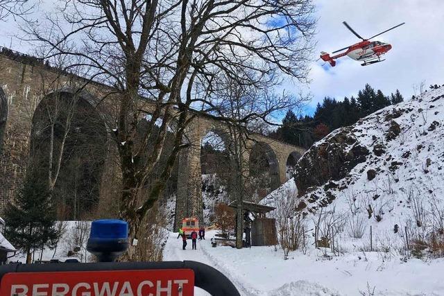 Schwer verletzt: Base-Jumper springt von Ravennabrücke