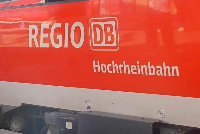Mann belästigt Frauen in der Hochrheinbahn sexuell