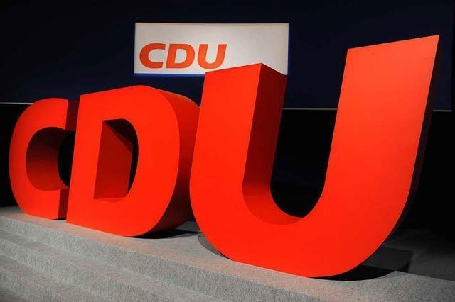 CDU: Mini-Ortsverband steht vor Maxi-Problemen