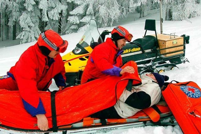 Bergwacht Schwarzwald: Allein 23 Einsätze am Feldberg