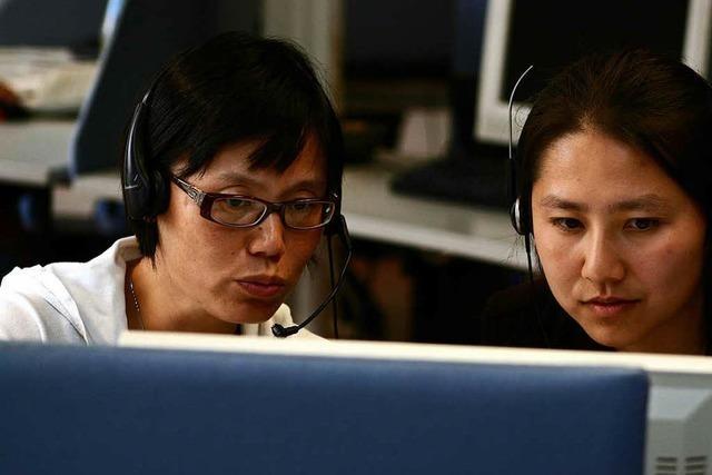 Funkstille im mehrsprachigen Lörracher Callcenter CCI