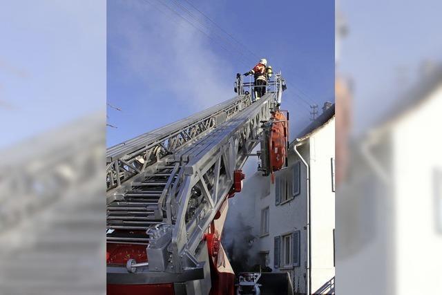 Feuerwehr: Beim Einsatz der Drehleiter häufen sich die Ausfälle