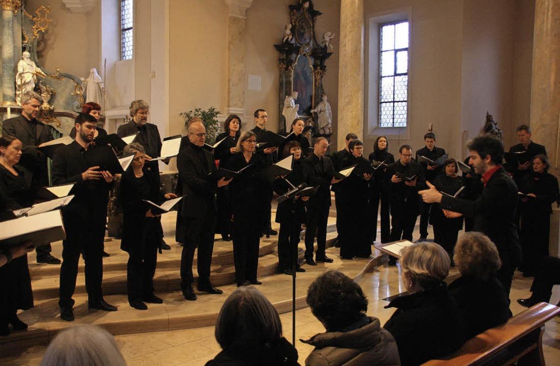 Unter der Leitung von Bernhard Schmidt...le europäische Chormusik der Romantik.  | Foto: Hans Jürgen Kugler