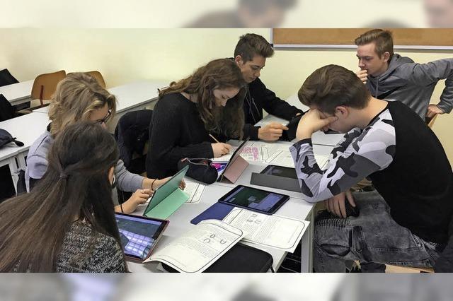 Tablets erobern das Klassenzimmer