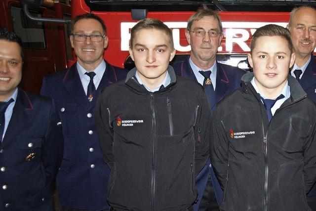 Die Freiwillige Feuerwehr Inzlingen sucht dringend Nachwuchs