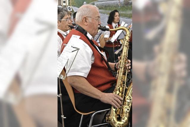 Rotzler freuen sich über ihren Musikverein
