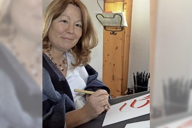 Von der Kunst des Schönschreibens von Hand
