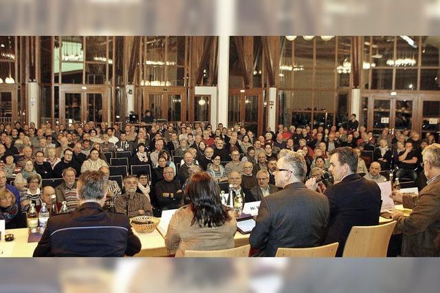 Bürgerversammlung in Friesenheim