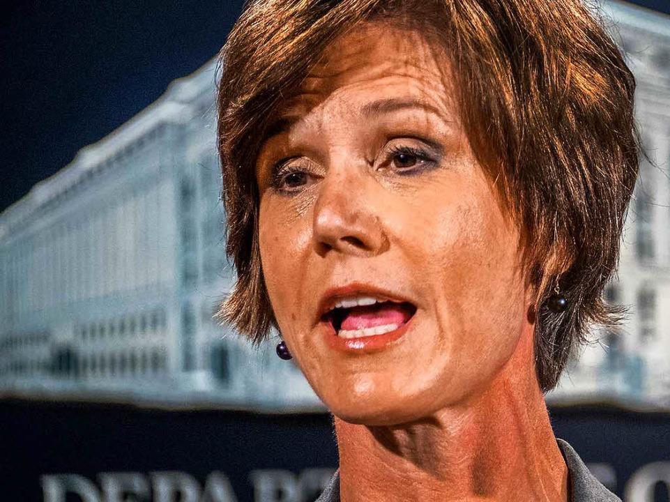Sally Yates ist ihren Job los.  | Foto: dpa