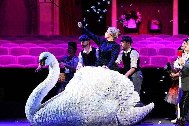 Umjubelt: Uraufführung der Oper