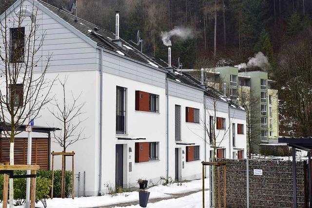 Teure Reihenhäuser in Günterstal sind immer noch nicht alle verkauft