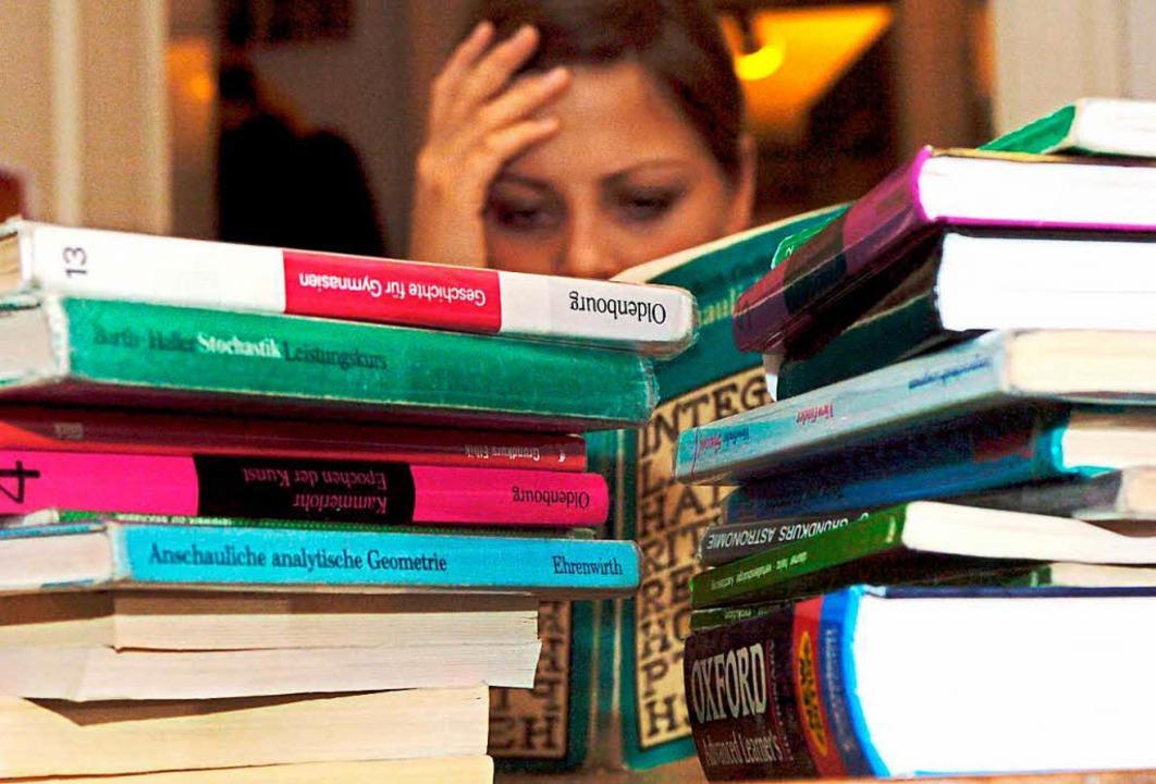 Lernen ist mühsam, kann aber auch Spaß machen.     Foto: dpa