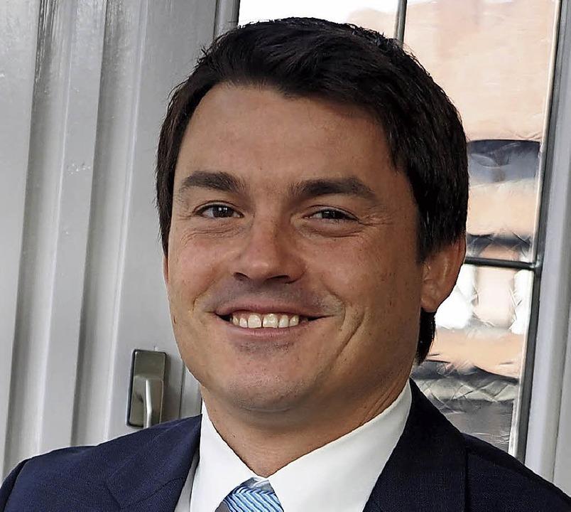 Beginnt heute seine zweite Amtszeit: Matthias Gutbrod  | Foto: Susanne Gilg