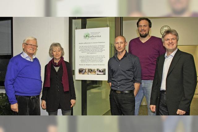 Förderverein unterstützt das Haus St. Katharina beim Umbau des Abschiedsraums