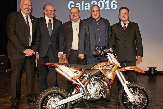 Motocrossmaschine für die Jugend