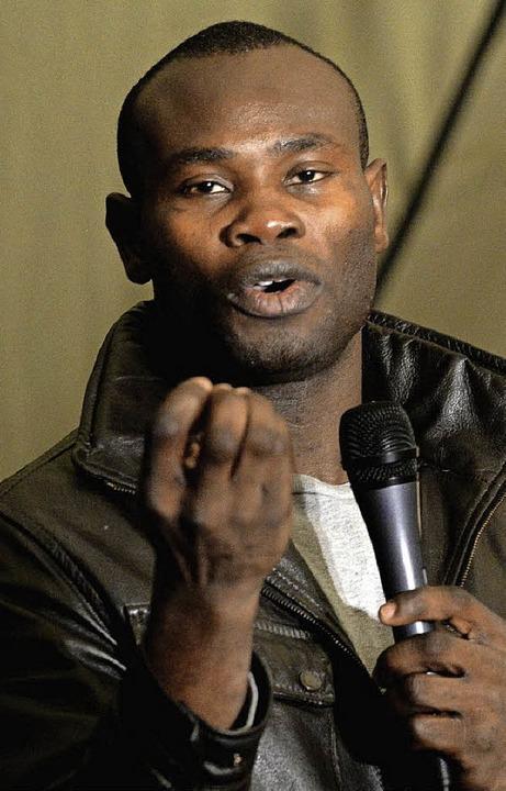 Der nigerianische Sänger Christian Ire...11. Februar in der Martinskirche auf.   | Foto: Privat