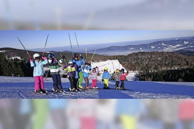 Skikurse der Skizunft Lahr