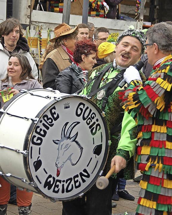 Die Geiße Guggis werden die Hungrigen Stühliner zum Narrentreffen begleiten.    Foto: Jutta Binner-Schwarz