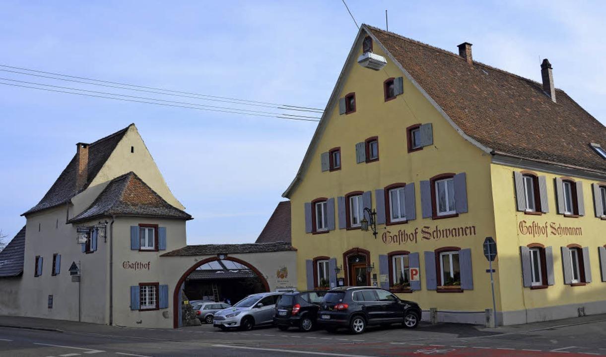 Der Landgasthof Schwanen in Seefelden:...n der Hand der  Wirtsfamilie Eckerlin   | Foto: Sigrid Umiger