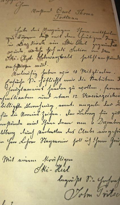 Vor 120 Jahren schrieb  Johann Tritsch...r wurden als treue Mitglieder geehrt.   | Foto: Inken Kramer