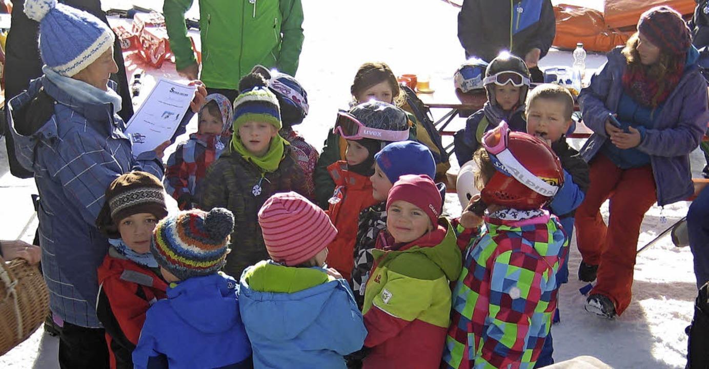 Am Ende des Wintersporttags gab es nur kleine Sieger.   | Foto: Privat