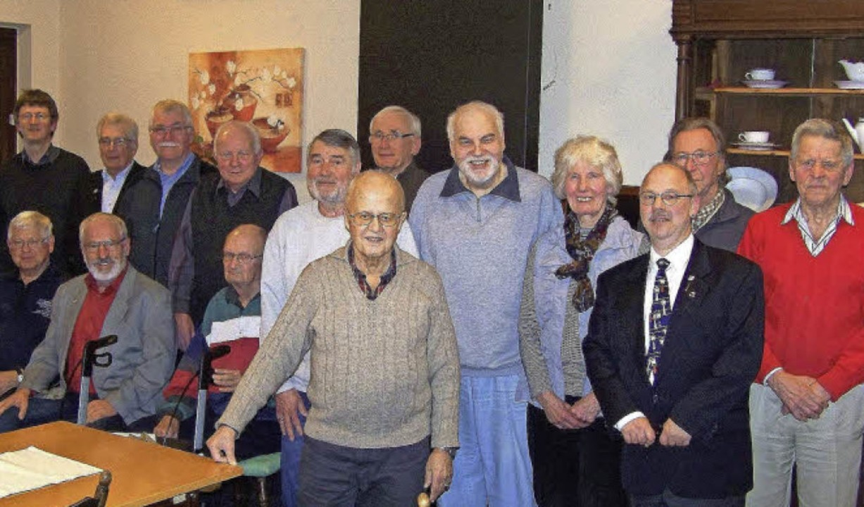 Immerhin 15 von 31 Jubilaren waren bei der Jahreshauptversammlung anwesend.      Foto: Hans Sigmund