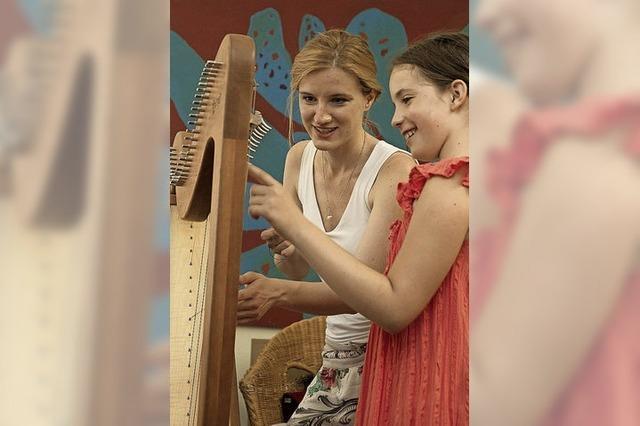 Informieren und Ausprobieren für Musik-Interessierte