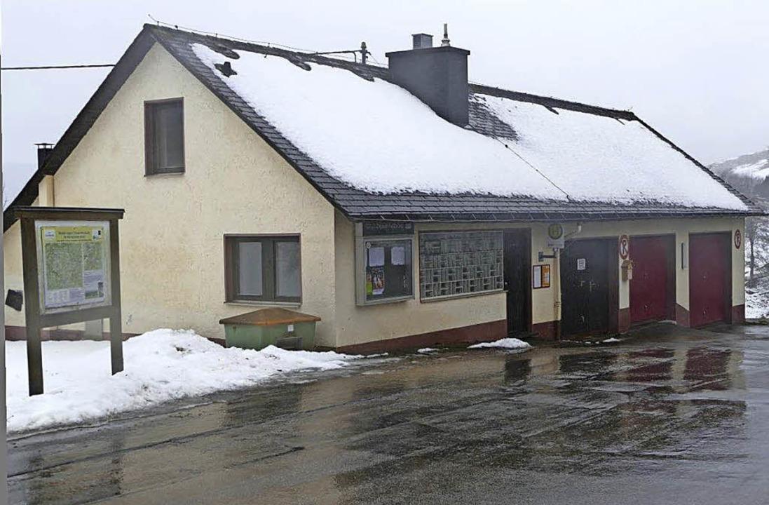 Das Schlachthaus heute und in Zukunft,...m Dorfgemeinschaftshaus umgebaut ist.     Foto: Bury/privat