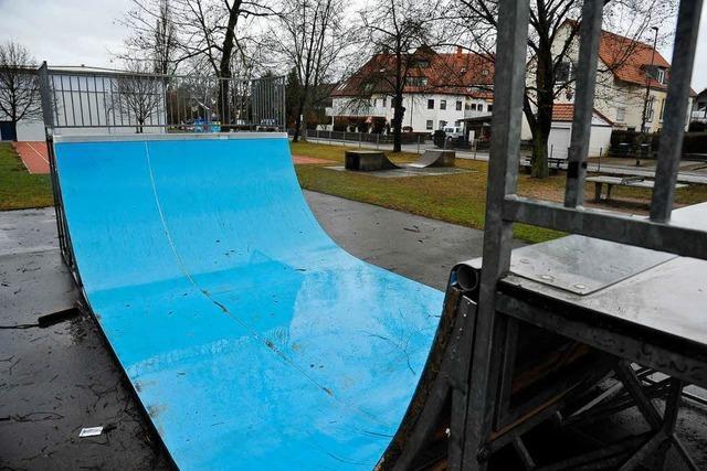Der Skatepark kann losrollen