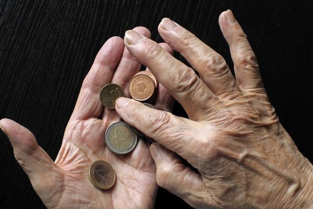 Nicht noch mehr arme Alte