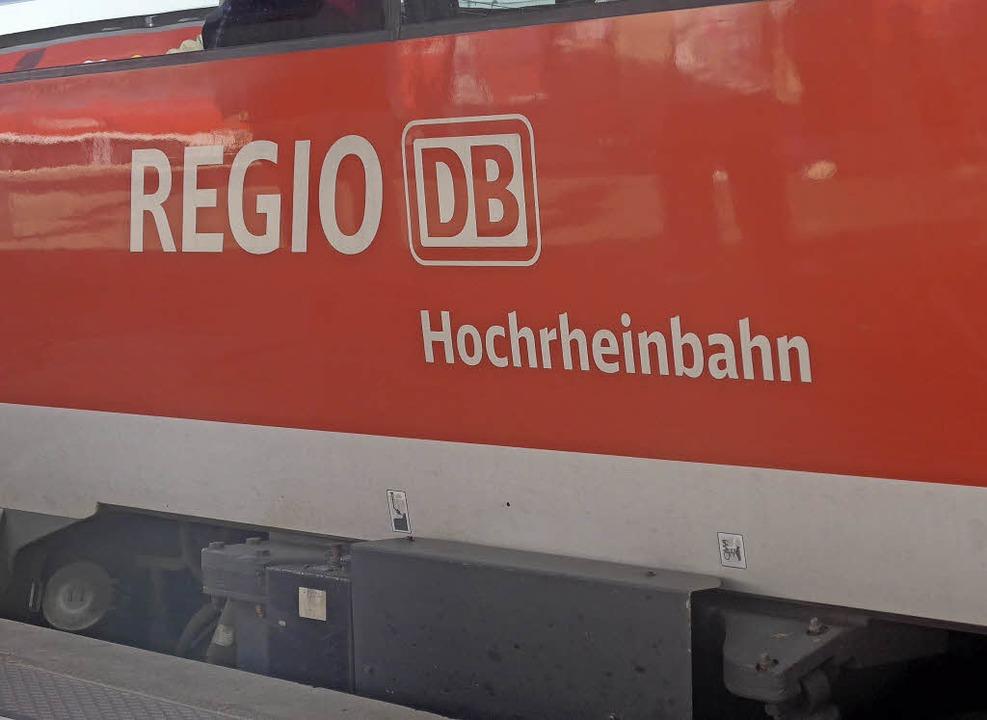 Die Bedienqualität der Hochrheinbahn sorgt für Unmut.   | Foto: gra