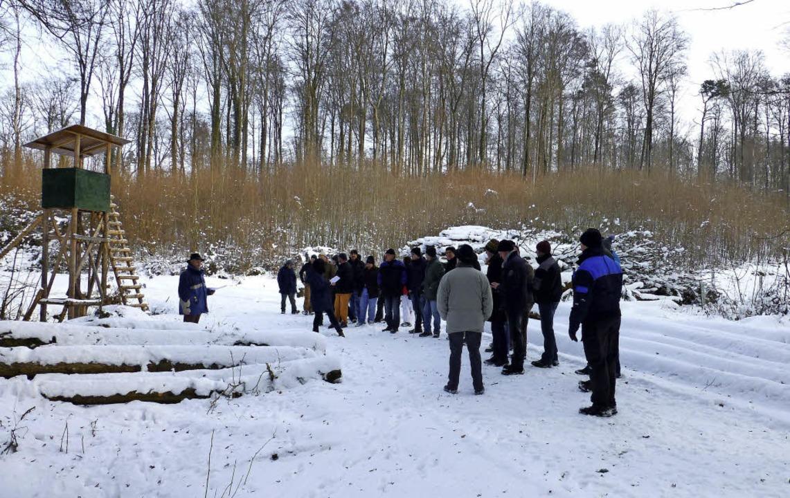 Eine kalte Angelegenheit war in diesem...eder Leben in die verfrorenen Glieder.  | Foto: Vera Winter
