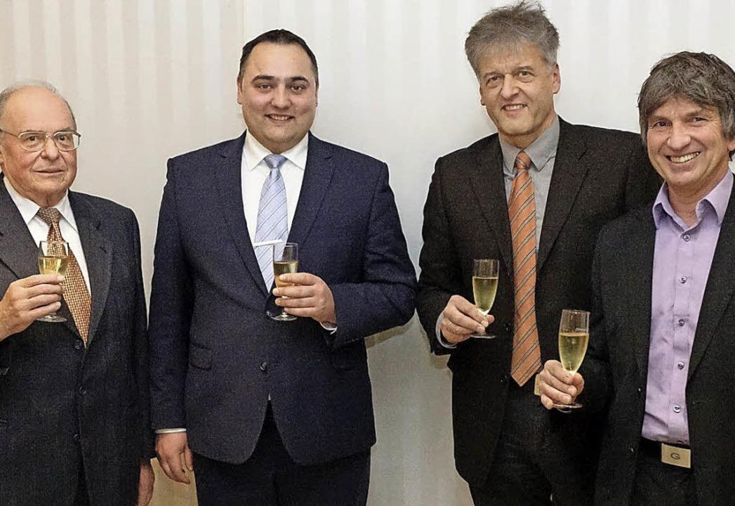 Neujahrsempfang der Steinener CDU: Wol...en CDU-Mitgliedern aufs neue Jahr an.   | Foto: Hans-Jürgen Hege