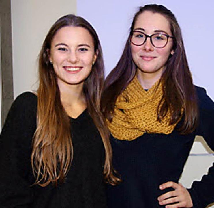 Sarah Stötzel (links) und Ann-Kathrin Götz   | Foto: Privat