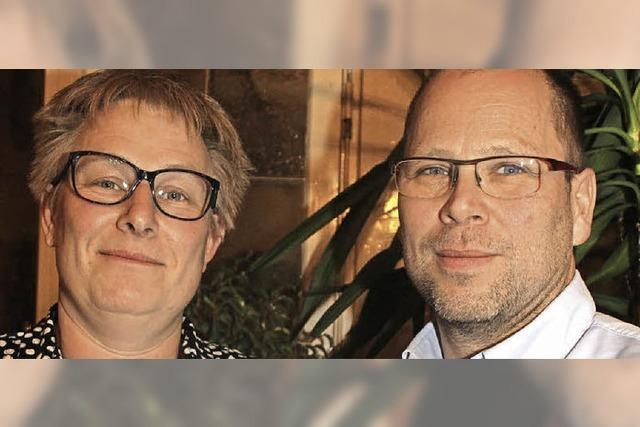 DLRG ehrt Stich und Huber