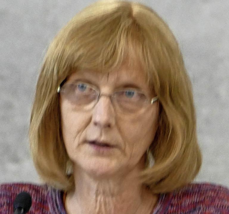 Ruth Cremer-Ricken, Grüne  | Foto: Felix Held