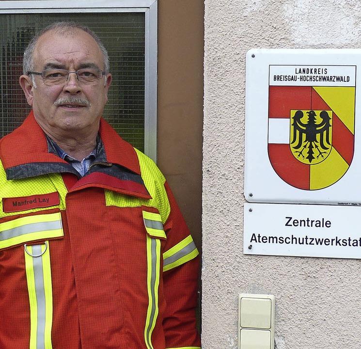 Manfred Lay betreute bis zu seinem Wec... Atemschutzwerkstatt des Landkreises.   | Foto: rinklin