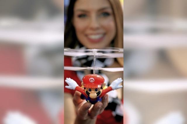 Super Mario lernt fliegen