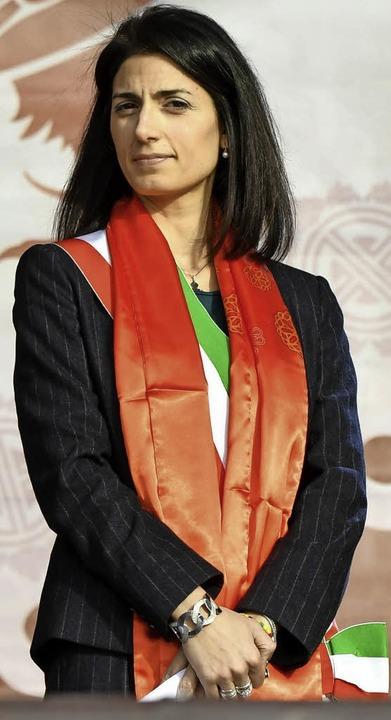 In der Kritik: Virginia Raggi   | Foto: AFP