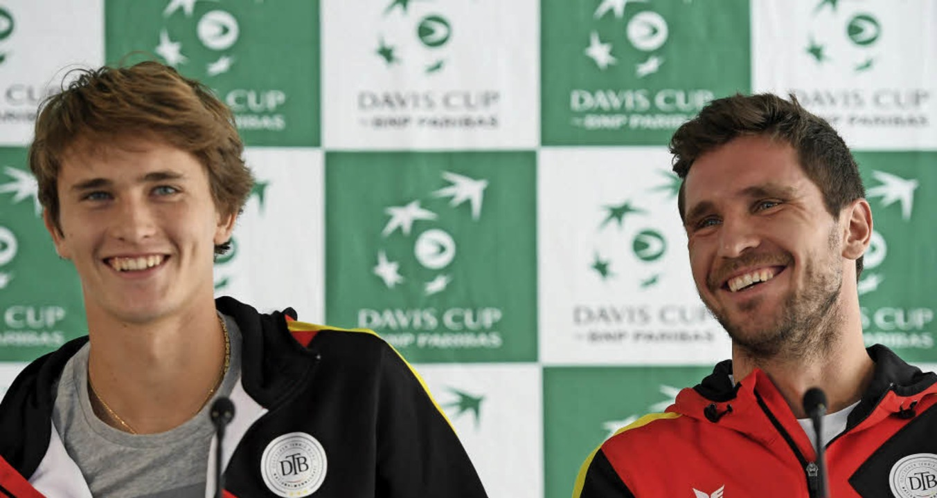 Alexander (links) und Mischa Zverev     Foto: dpa