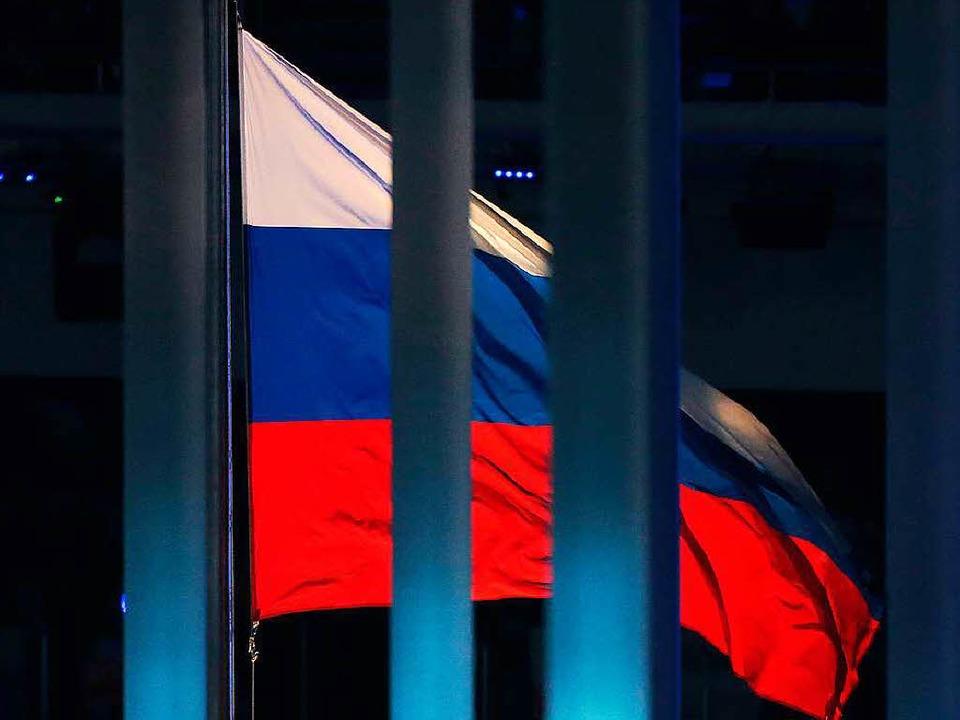 Alle russischen Athleten sperren? Dopi...Komitee unter Thomas Bach eiert herum.  | Foto: dpa