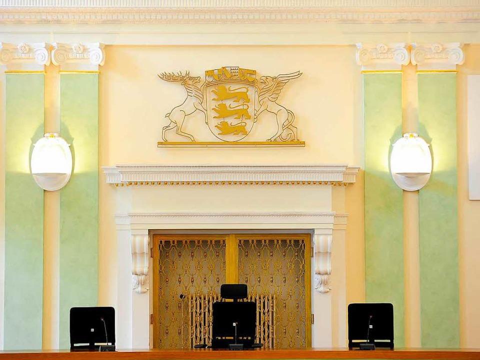 Unbesetzte Richterstühle    Foto: Thomas Kunz