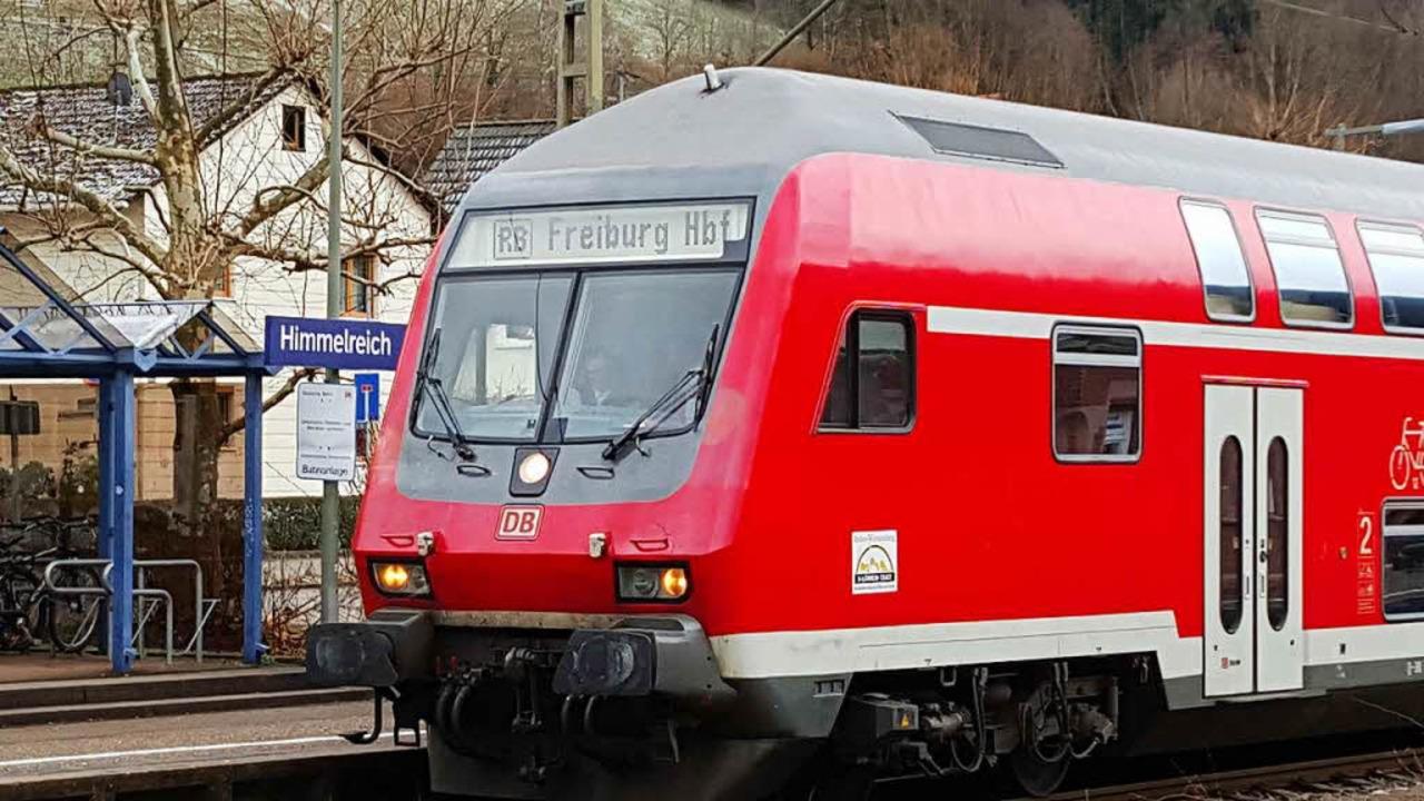 Unfall auf der Strecke der Höllentalbahn  | Foto: Sebastian Wolfrum