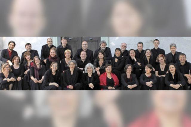 John-Sheppard-Ensemble Freiburg mit Musik aus der Pariser Kirche St-Sulpice