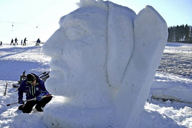 Schwarzwälder Schneeskulpturenfestival Bernau