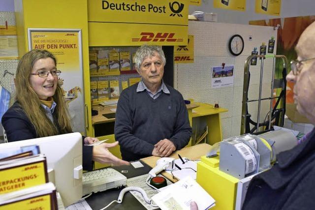 In Ebnet gibt's wieder eine Post-Partnerfiliale
