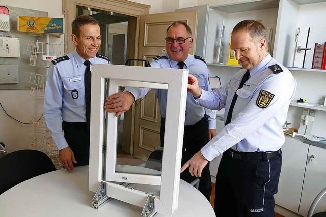 Einbruchskriminalität in Lörrach: Sonderstreifen zeigen Wirkung