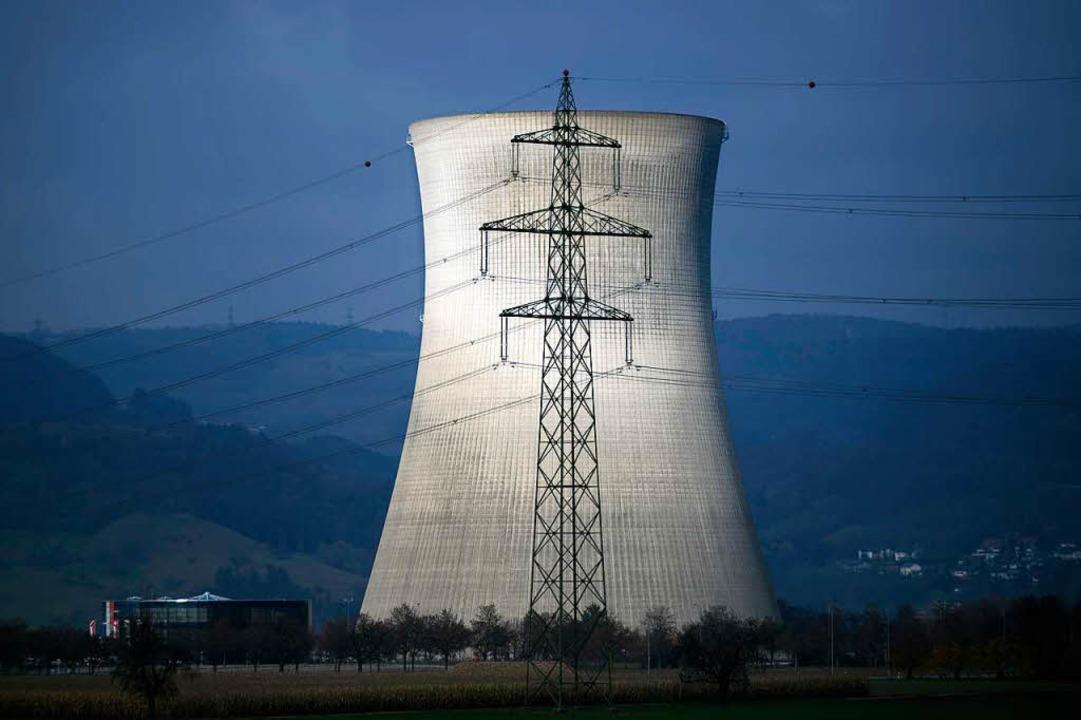 Das Kernkraftwerk Leibstadt steht seit Sommer still und kostet viel Geld.    Foto: AFP