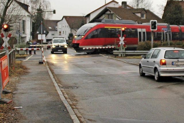 Schließung des Bahnübergangs verärgert die Bürger